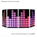 Equinox DJ Screen Heart Design Lycra (4 Pack) PINK BK.jpg
