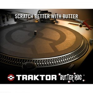 Native Instruments TRAKTOR BUTTER RUGS - slipmaty