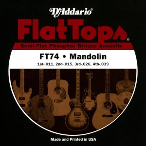D'ADDARIO  FT74 - struny do mandoliny