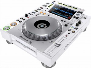 Pioneer CDJ-2000-NXS2W - odtwarzacz multimedialny white limited edition