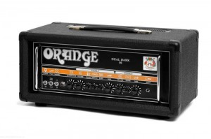 Orange Dual Dark 50 - Lampowy head gitarowy