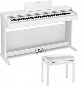 CASIO AP-270 WE + Ława - pianino cyfrowe z ławą