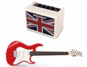 Cort G200 SRD + BLACKSTAR FLY 3 Union Jack Mini Amp Ltd. Ed. cream - zestaw gitarowy