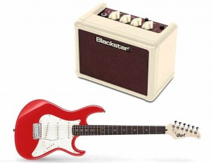 Cort G200 SRD + Blackstar FLY 3 Mini Amp Vintage Ltd Edition - zestaw gitarowy