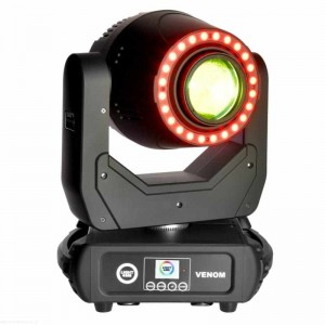 Light4Me Venom Spot Ring 200W - głowa ruchoma LED