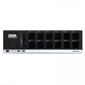DNA EASY PAD - kontroler perkusyjny MIDI USB