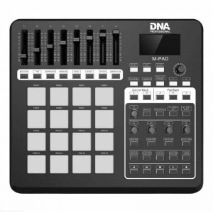 DNA M-PAD - przenośny interfejs, kontroler MIDI USB