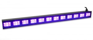 BeamZ BUV123 - belka LED UV