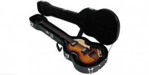 RockCase RC 10628 B/SB - futerał do basu w stylu Beatles Bass