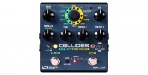 Source Audio SA 263 - One Series Collider Stereo Delay+Reverb - efekt gitarowy