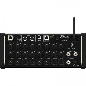 Behringer X AIR XR18 - mikser cyfrowy rack z routerem WiFi