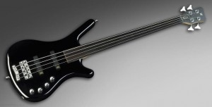Warwick RockBass Corvette Basic Medium Scale 4-String Fretless SBHP - gitara basowa