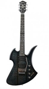 B.C. Rich Mockingbird Legacy ST with Floyd Rose - Black Burst - gitara elektryczna