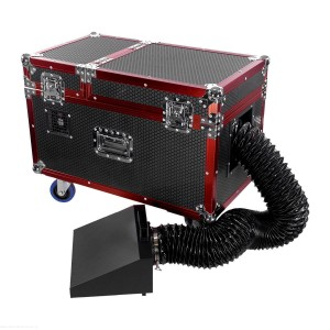 COLORSTAGE WYTWORNICA DYMU CIĘŻKIEGO LOW FOG PRO CASE RED DEVIL