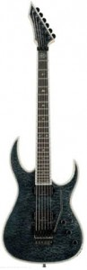 B.C. Rich Shredzilla Prophecy Exotic Archtop with Floyd Rose - Quilted Maple Top, Trans Black - gitara elektryczna
