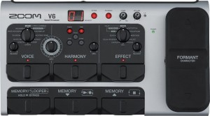 ZOOM V6 Vocal Processor - procesor wokalowy