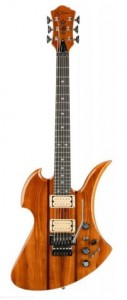 B.C. Rich Mockingbird Legacy Exotic ST with Floyd Rose - Koa Top, Natural Transparent Gloss - gitara elektryczna